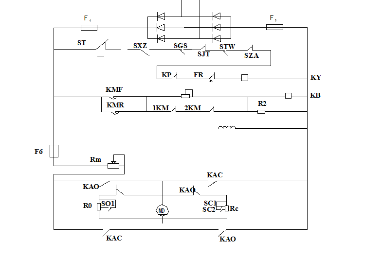 plc控制五层电梯设计精品图片