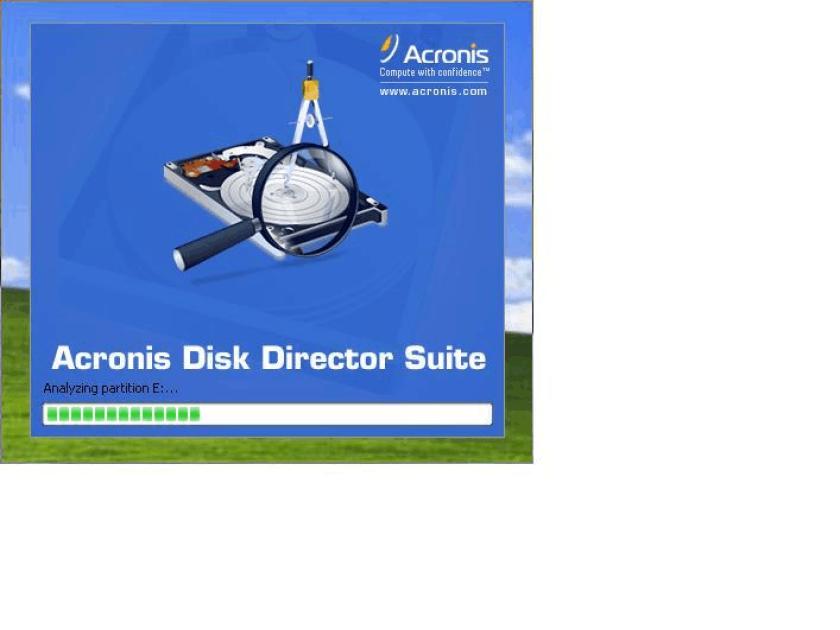 分区软件acronis disk director suite 10使用教程