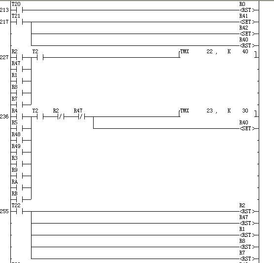 这是一个关于plc的四层电梯控制的梯形图,很完美运行,希望大家提出图片