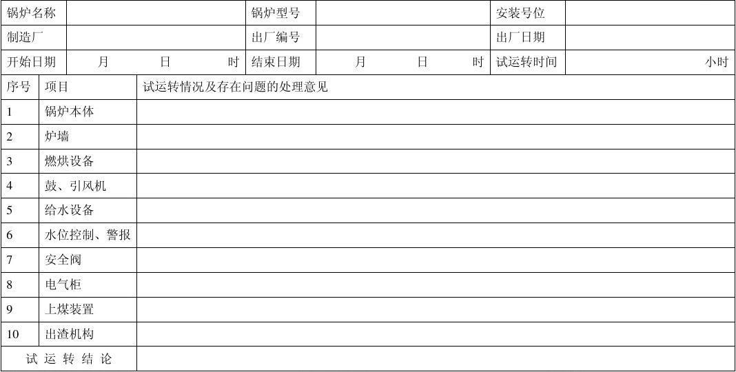 全套建筑工程资料表格(补水资料)
