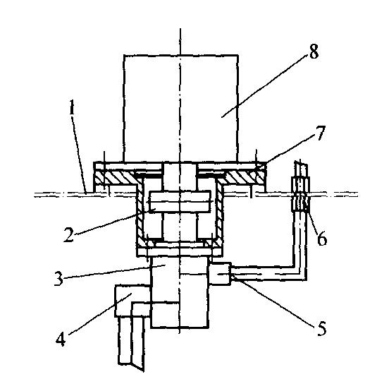 立体停车库液压升降系统的设计图片