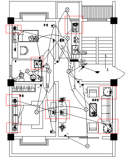 引线标注在CAD应用中的制图cad快捷键打印灰度中图片