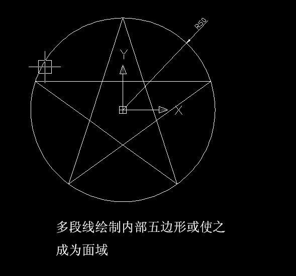 cad画三维立体五角星 六角星 七角星 八角星等