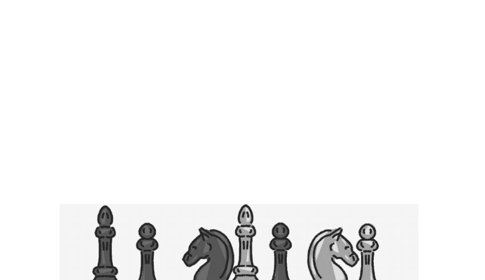 国际象棋战术组合技巧-新版马头图片
