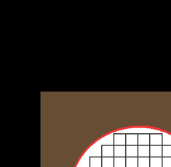 扇形硬笔书法格纸(精美)图片