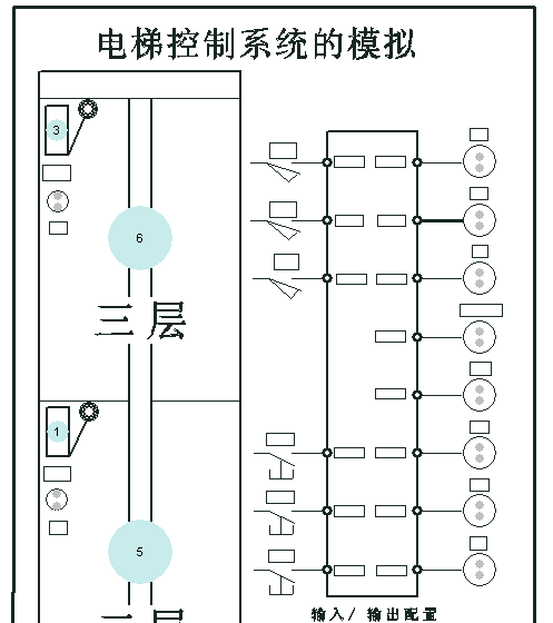 【精品】plc三层电梯自动控制设计图片