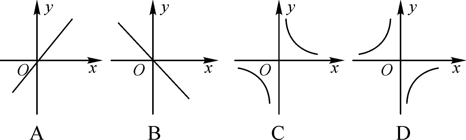 论+�y�nY�XXދK_第1课时 反比例函数y=k/x(k>0)的图象与性质