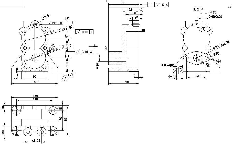 1034泵体钻孔与镗孔专用夹具设计:设计说明书,三维设计,cad装配图