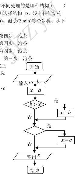 jkzyw2010高考二轮复习数学考案(5)算法初步