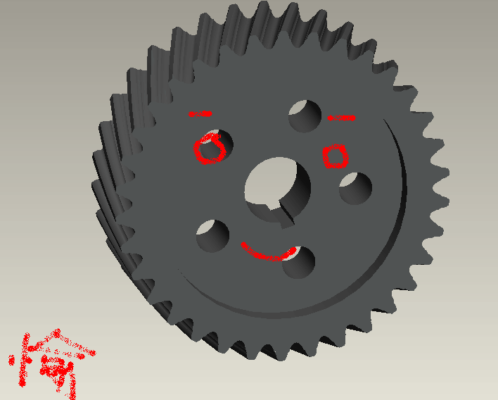 (共2页,当前第1页) 你可能喜欢 圆弧齿轮 圆锥齿轮 proe齿轮画法图片