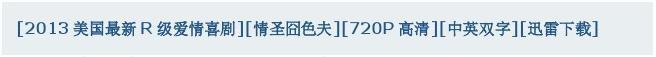 [2013美国最新R级爱情喜剧][情圣囧色夫][720P高清][中英双字