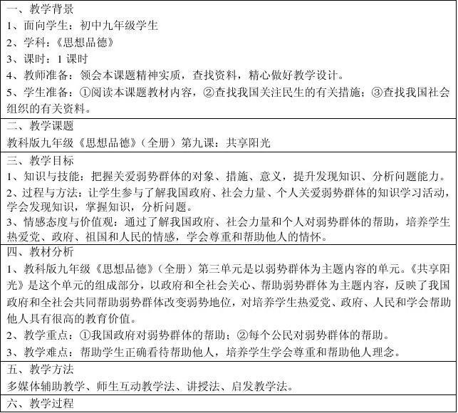 教育部参赛—共享阳光—王自杰