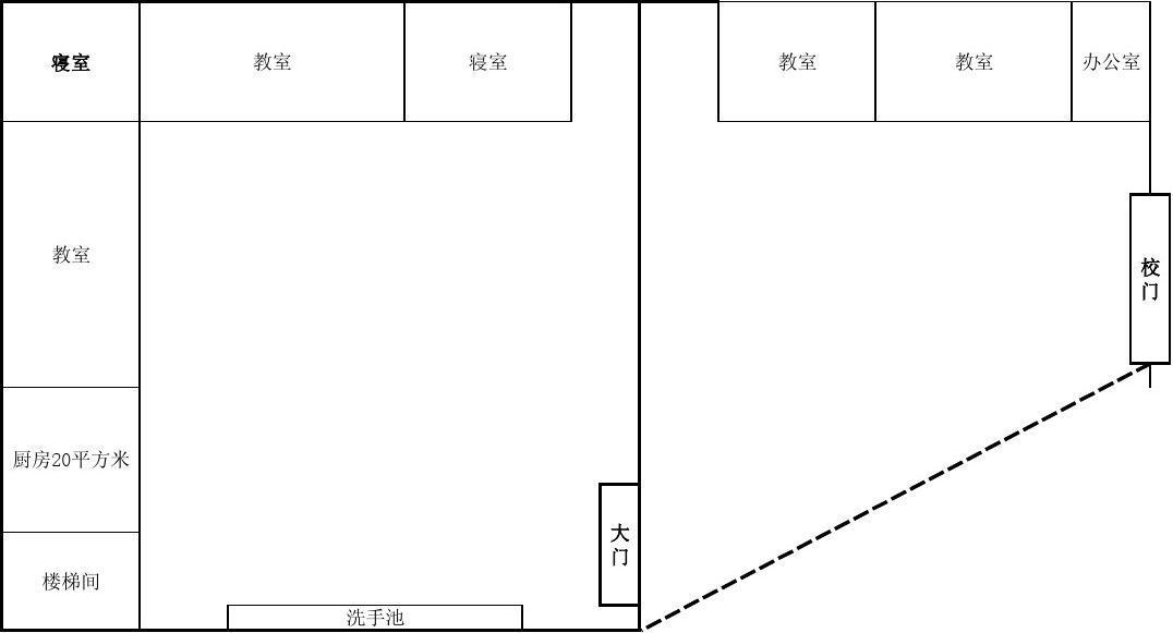 和平阳光幼儿园平面图图片