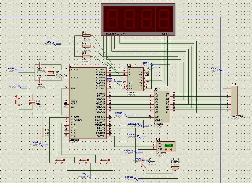 文档网 所有分类 工程科技 电子/电路 基于单片机的ds18b20数字温度计图片