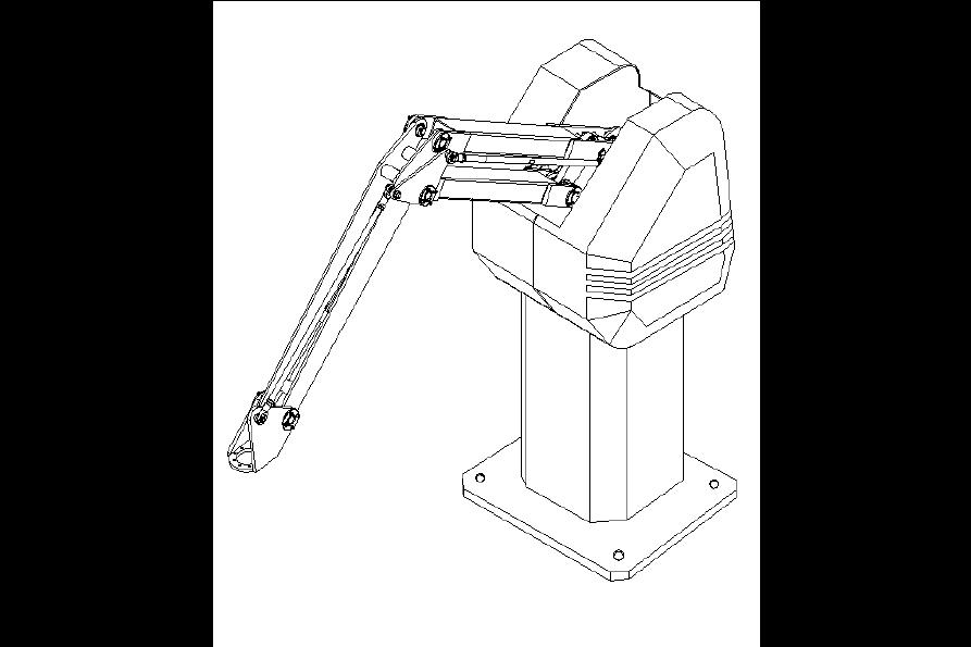 课题_中型搬运机器人主臂机构设计设计(160N)说明书