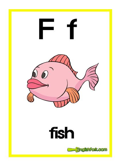 小学英语字母卡片(图片)带简单单词图片