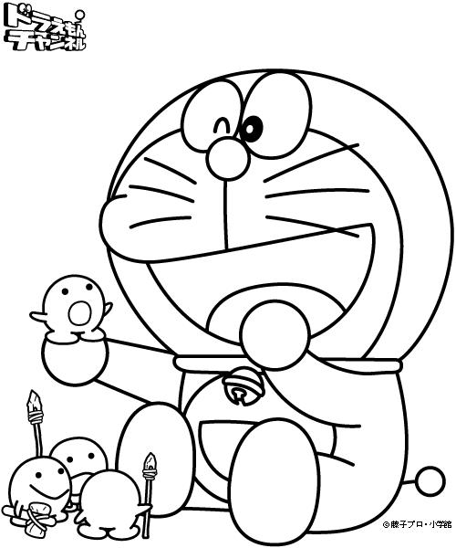 儿童涂色画2