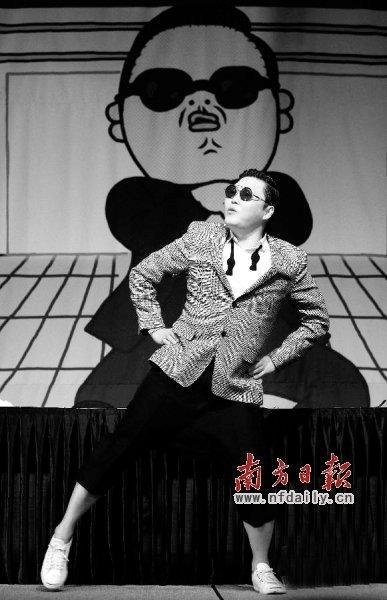 《江南STYLE》走红 韩国大叔俩月疯赚5000万