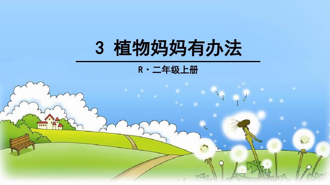 新部编妈妈版二字字植物上3办法年级有语文p教学课件的书写人教带的鸟图片