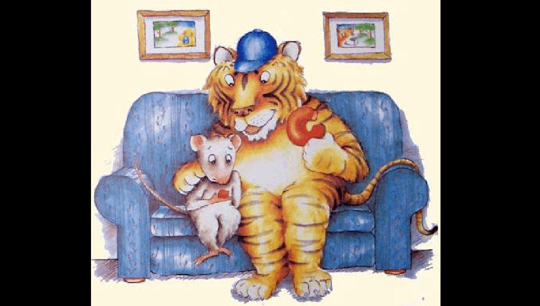 绘本《小老鼠和大老虎》ppt