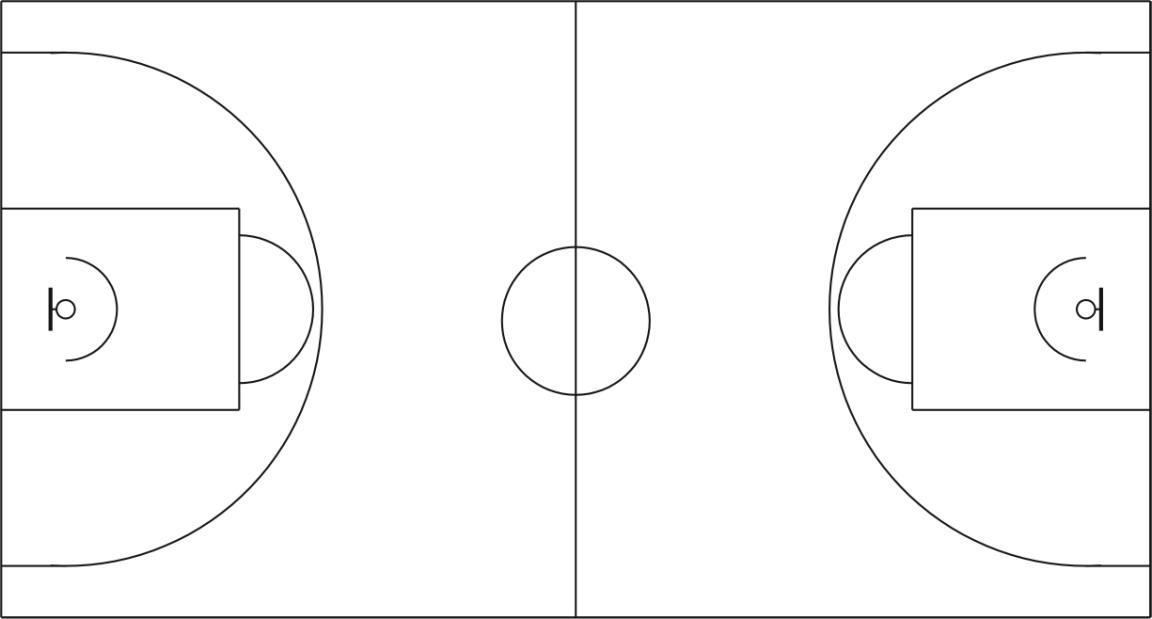 标准篮球场俯视图以及尺寸_word文档在线阅读
