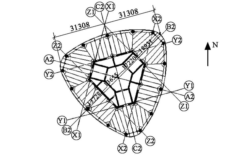 广州西塔结构抗震设计图片
