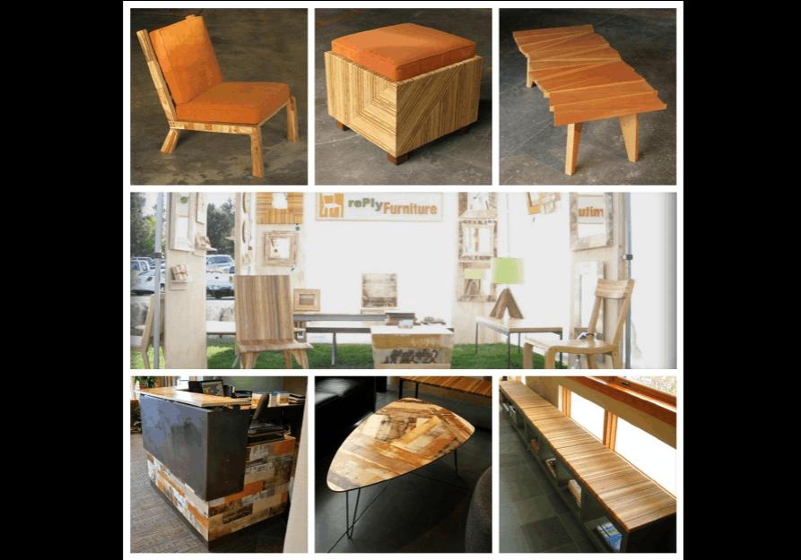 智家居rePly家具:为胶合板废料找一个新用途