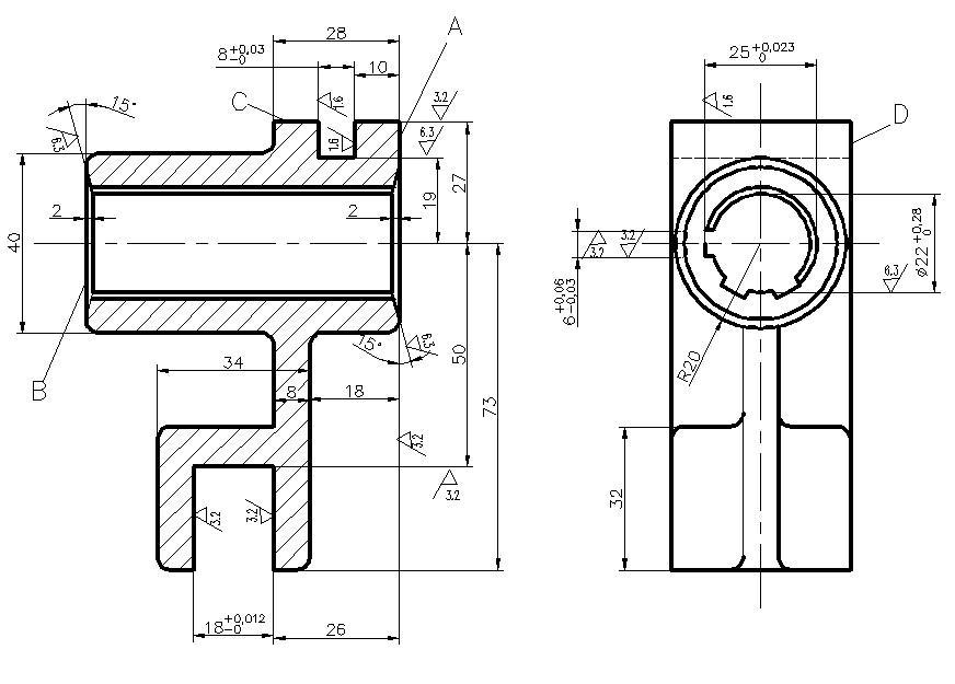 机械制造技术基础课程设计任务书1图片
