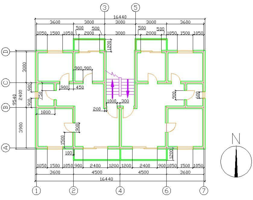 《建筑CAD》期末考试试卷A卷建筑设计与城乡规划哪个好图片