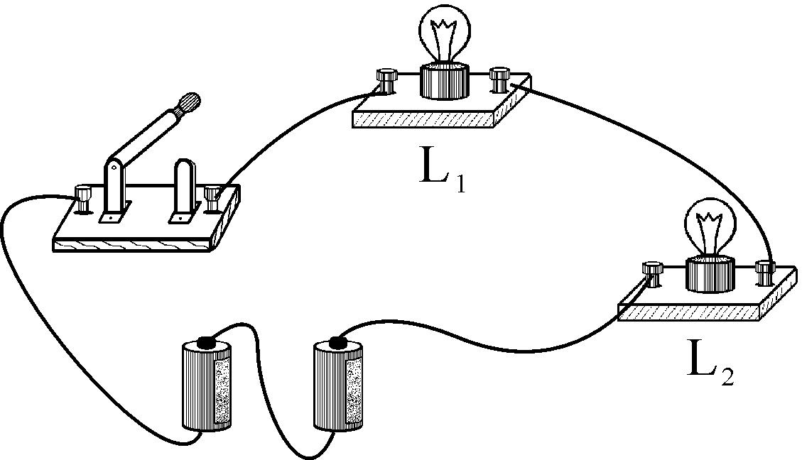 把电路元件首尾依次连接的电路叫串联电路.图片