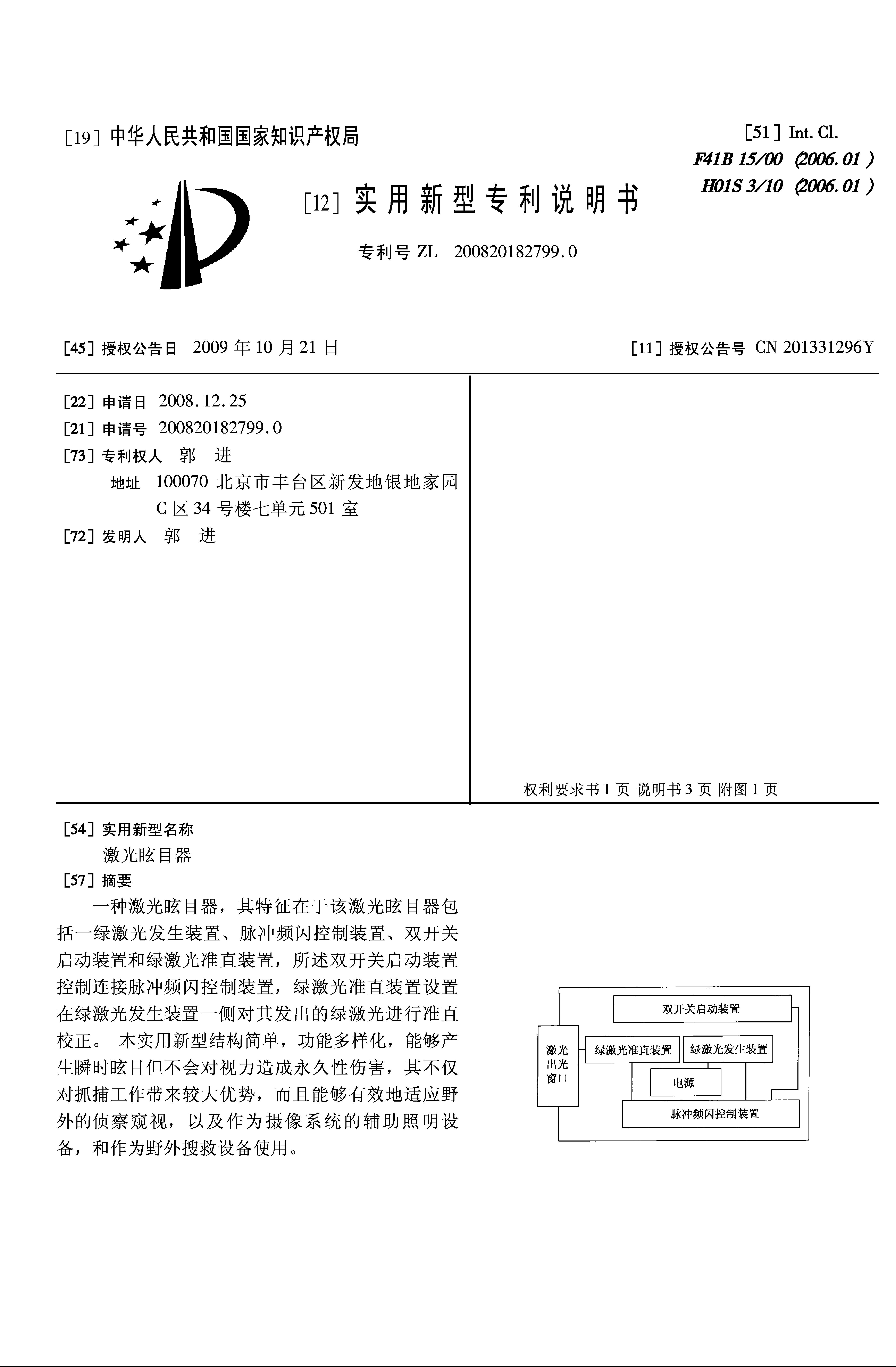 激光眩目器(3)