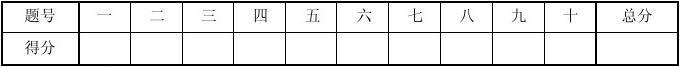 五邑大学C语言程序设计_期末考试题1