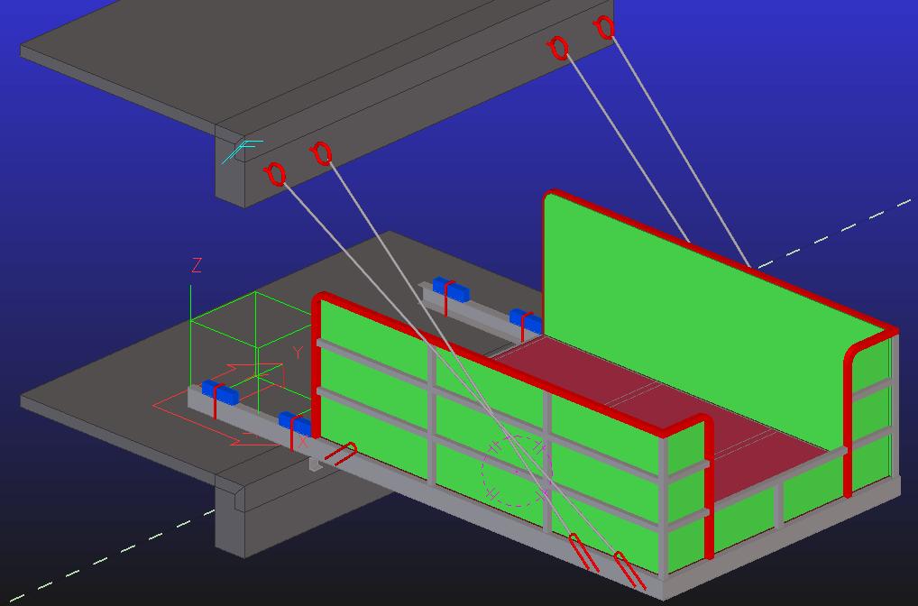 型钢悬挑卸料平台计算书3600