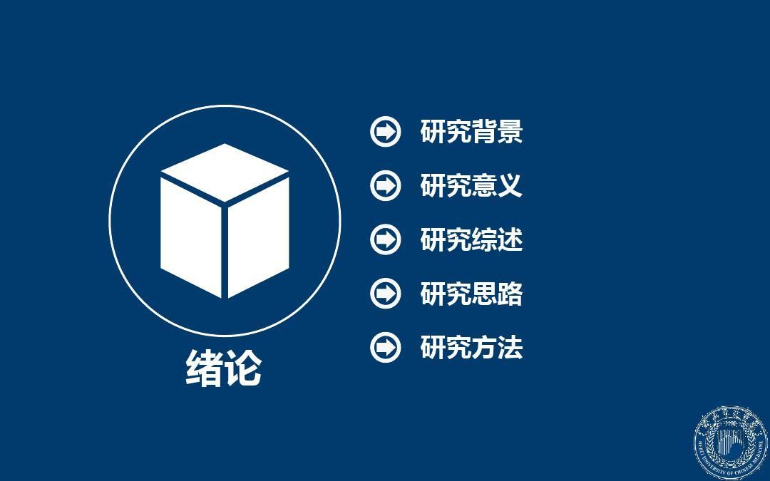 河北中医学院毕业答辩ppt模板图片