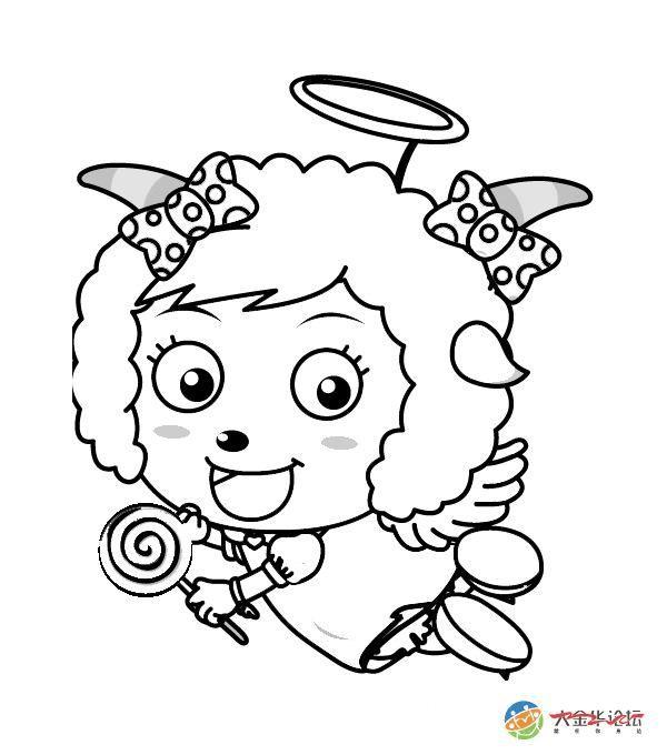 卡通动物简笔画(打印版)_word文档在线阅读与