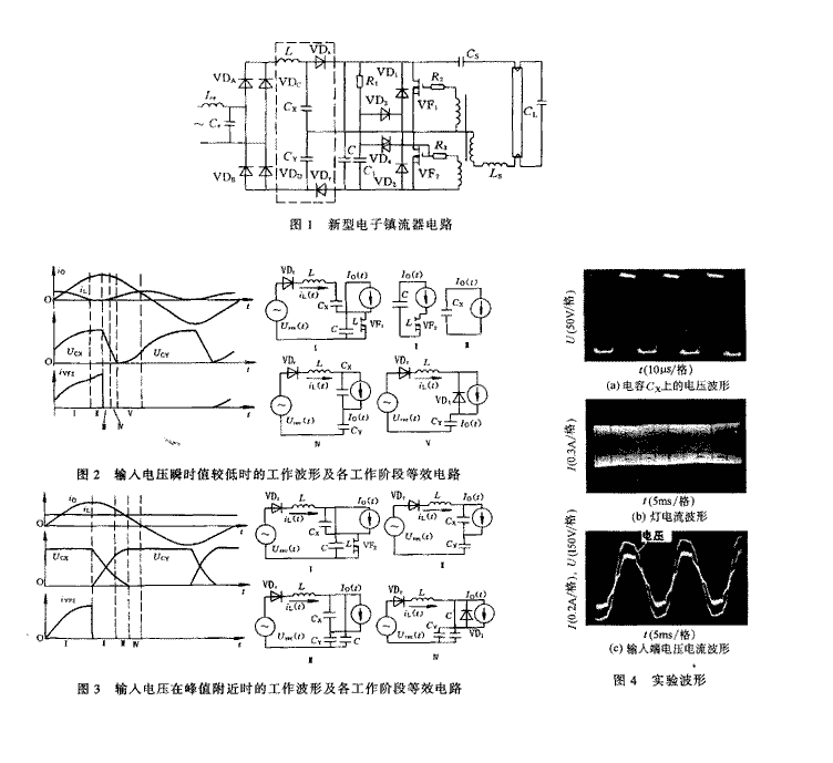浅析新型逆变式电子镇流器工作原理与设计方法