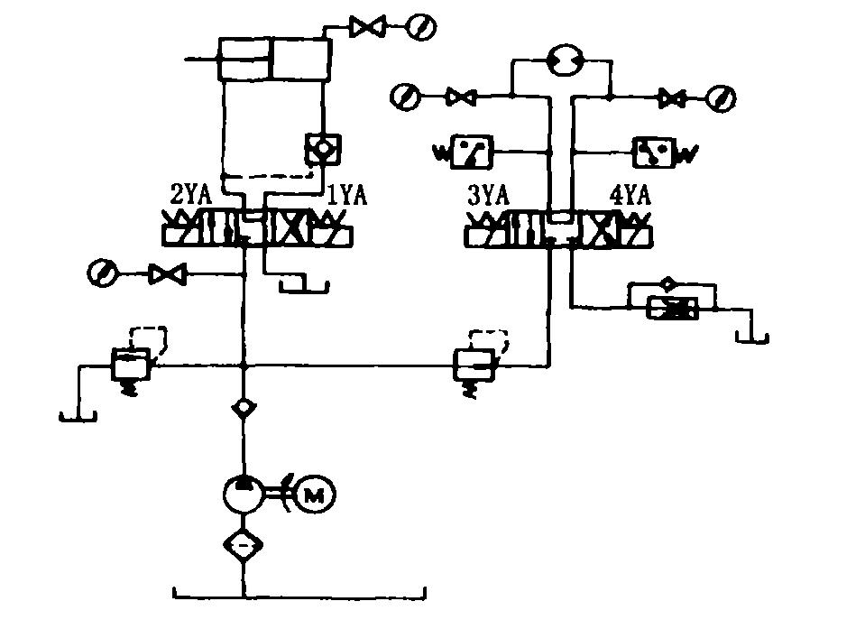 板框压滤机液压系统的设计图片