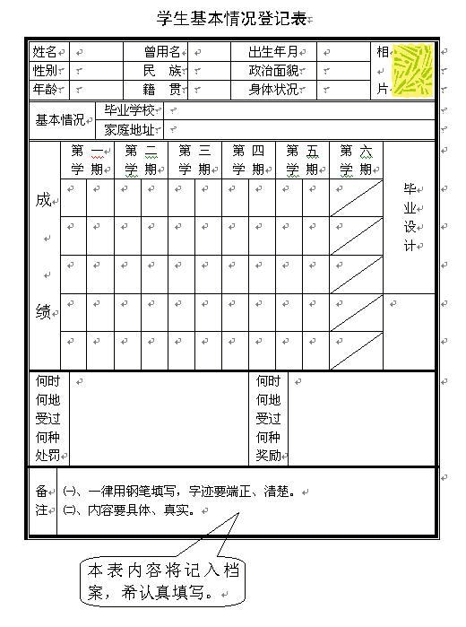 例如,我们制作通讯录,课程表,报名表等就必须使用表格,这样比 较方便