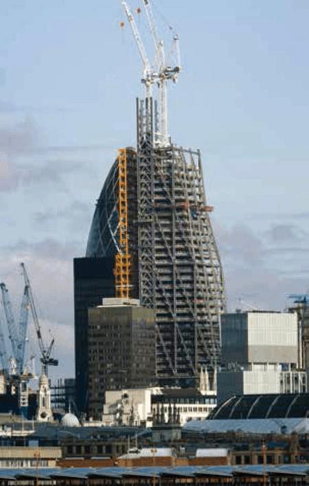 伦敦超高层建筑leadenhall设计与施工中的创新技术