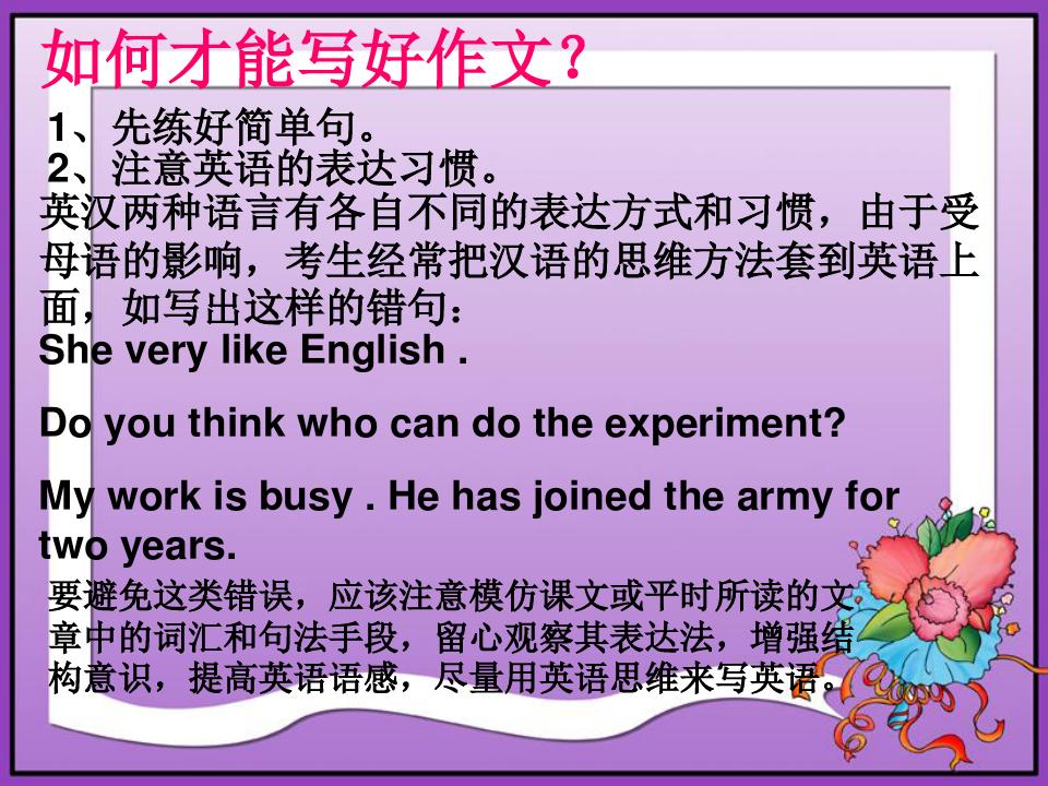 英语写作方法指导.ppt
