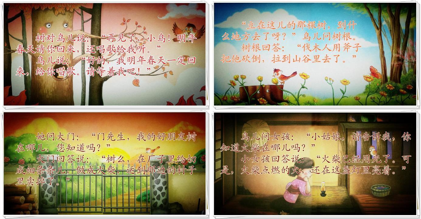 小学三年级语文_王崧舟去年的树_高清课件ppt图片
