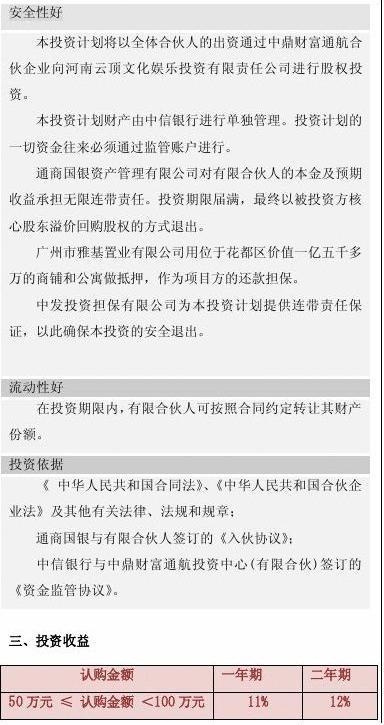中鼎财富通航股权投资计划(三折页).doc3