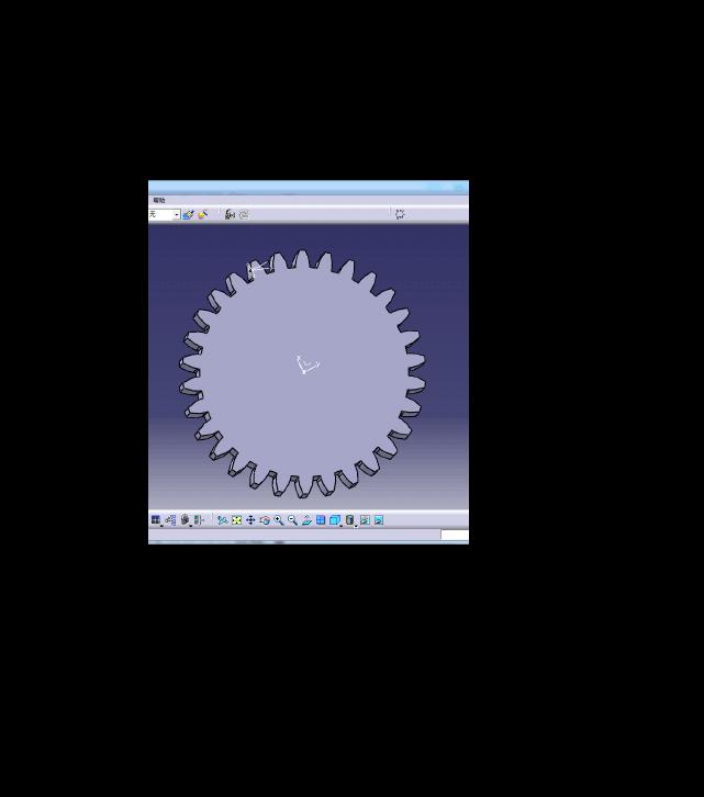标准直齿轮画法CATIA