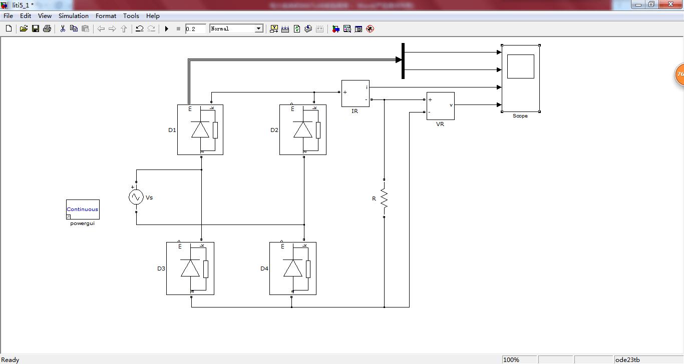 用matlab画电路�_使用matlab对不同条件下的并网过程进行仿真分析.利用