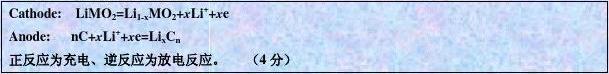 中国化学会2005年全国高中学生化学竞赛(省级赛区)备用试题