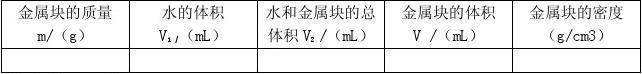 八年级物理下册 6.4 密度知识的应用导学案1(无答案) 苏教版