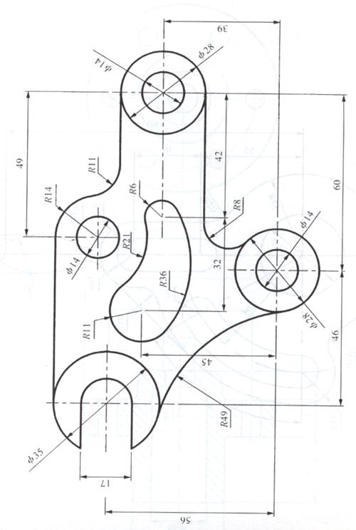 亿佰文档网 所有分类 工程科技 机械/仪表 cad机械练习图纸答案  第1