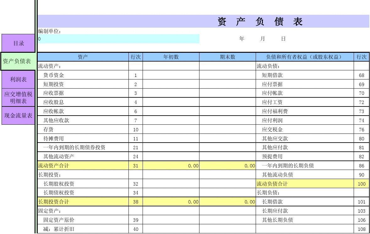 2013新会计准则_小企业会计制度的财务报表模板,-2013年小企业会计制度的财务 ...
