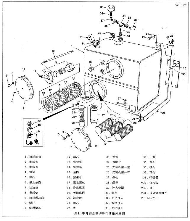 tr100矿用自卸车举升系统培训教材图片