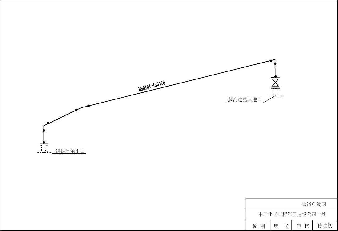 系统管道单线图1